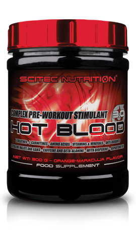 HOT BLOOD 3.0 SCITEC NUTRITION (300 гр)