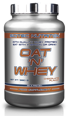OAT 'N' WHEY SCITEC NUTRITION (1380 гр)