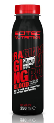 RAGING BLOOD STRONG SCITEC NUTRITION (12 x 250 ml)