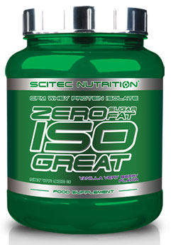 ZERO SUGAR/ZERO FAT ISOGREAT SCITEC NUTRITION (900 gr)