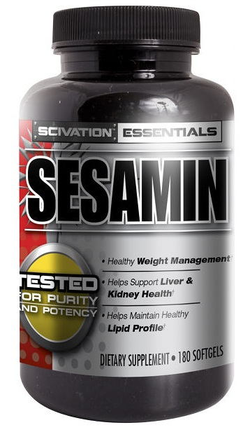 Sesamin Scivation (180 softgels)