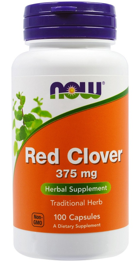 Red Clover 375 mg NOW (100 кап)