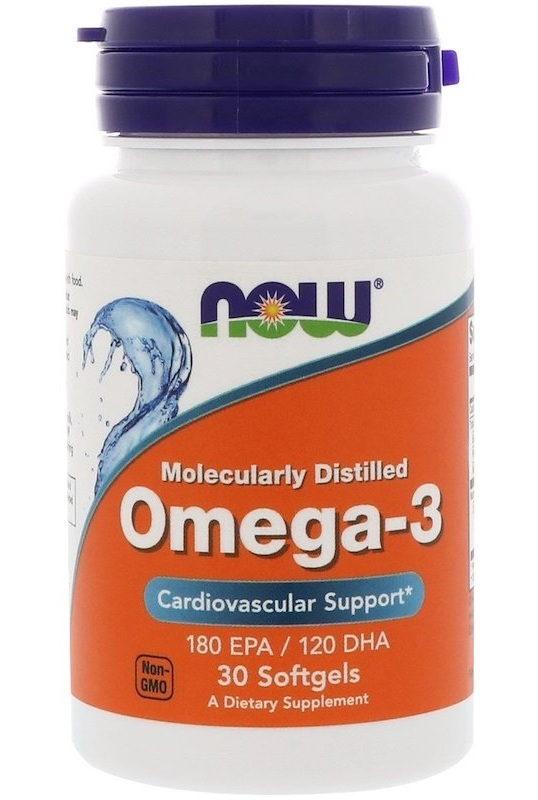 Omega-3 NOW (30 гелевых капсул)