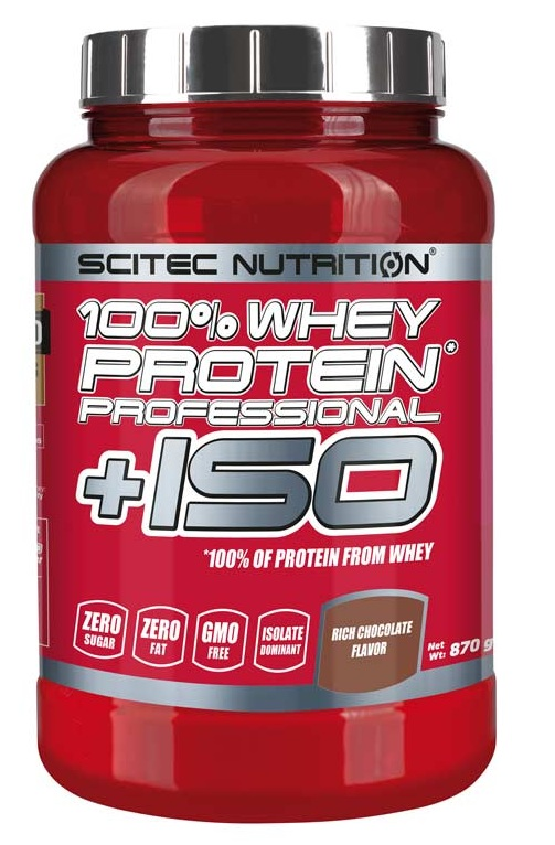 100% Whey Protein Pro + ISO Scitec Nutrition (870 g)
