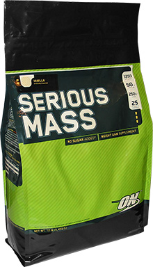 Serious Mass Optimum Nutrition (5455 гр)