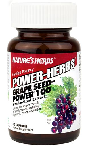 Grape Seed-Power 100 mg Twinlab Nature`s Herbs (30 кап)