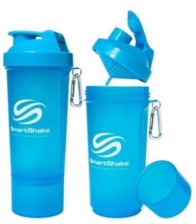 Шейкер SmartShake Slim Neon v2 (500 мл)