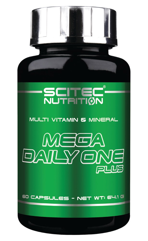MEGA DAILY ONE PLUS SCITEC NUTRITION (60 кап)