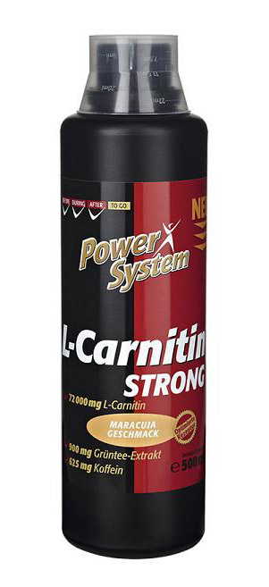 L-Carnitin Strong 72000 Power System (500 мл)(годен до 01/2019)