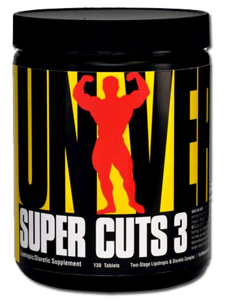 Super Cuts 3 Universal Nutrition (130 таб)
