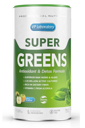 Super Greens VPLab Nutrition (300 гр)