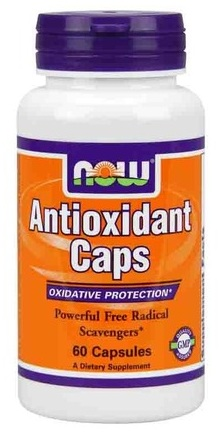 Antioxidant Caps NOW (60 Capsules)