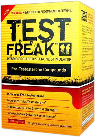 TEST FREAK (120 hybrid capcules)