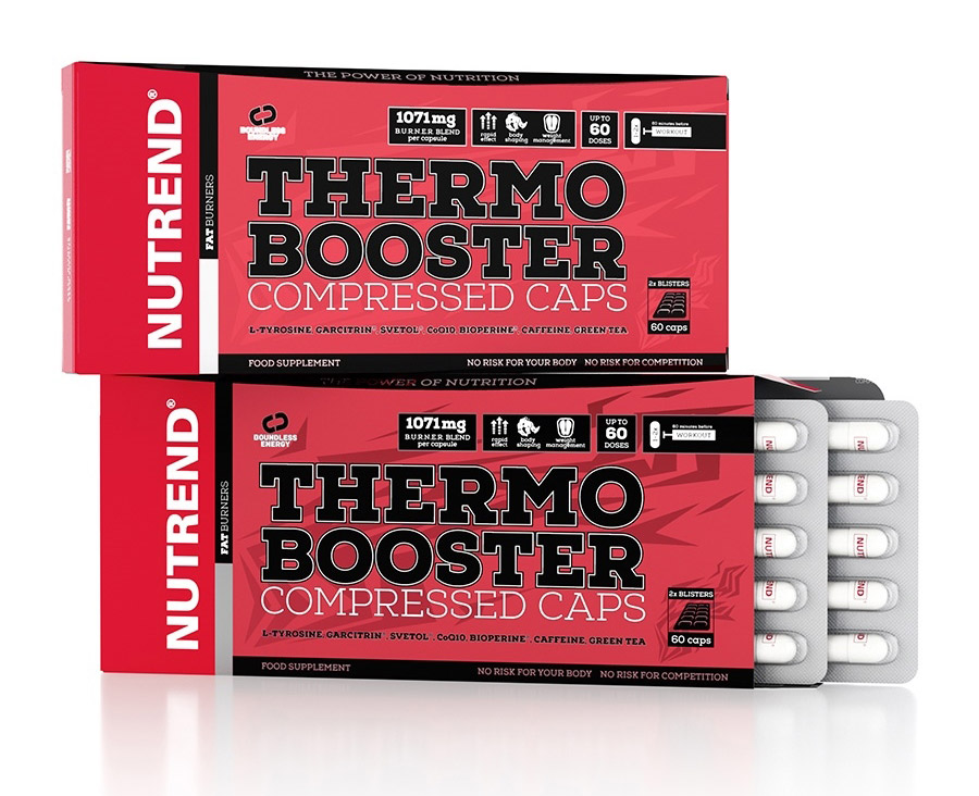 Thermobooster Compressed Caps  Nutrend (60 кап)годен до 21/06/18