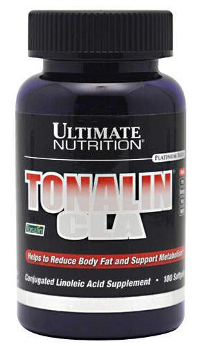 Tonalin CLA Ultimate Nutrition (100 гель кап)(годен до 01/2019)