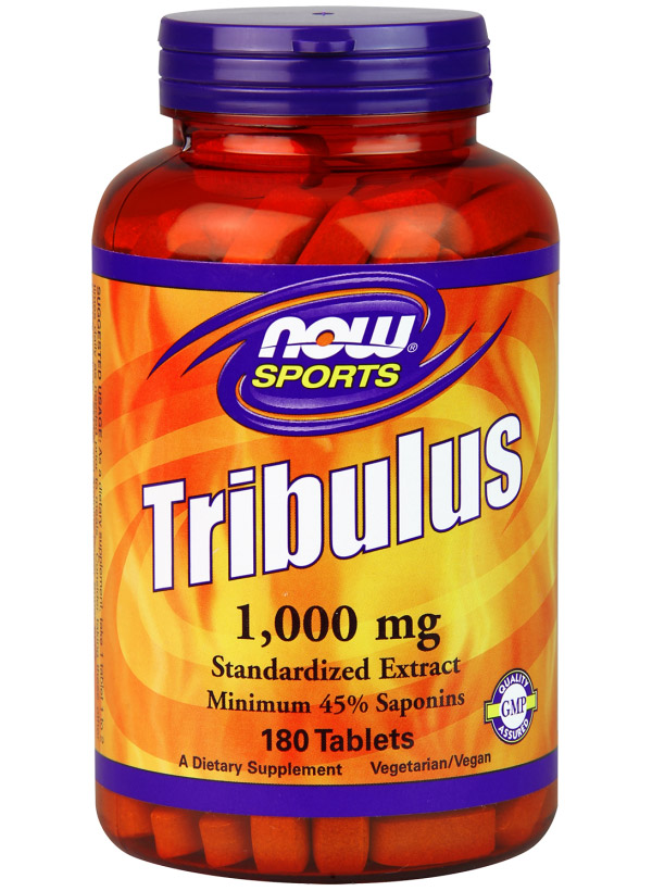Tribulus 1000 mg NOW (180 tab)