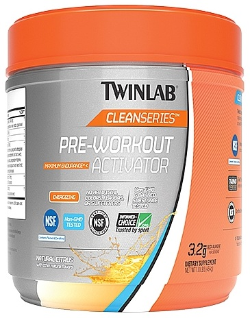 Pre-Workout Activator Clean Series Twinlab (454 gr)
