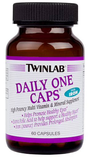 Daily One Caps With Iron Twinlab (60 cap)