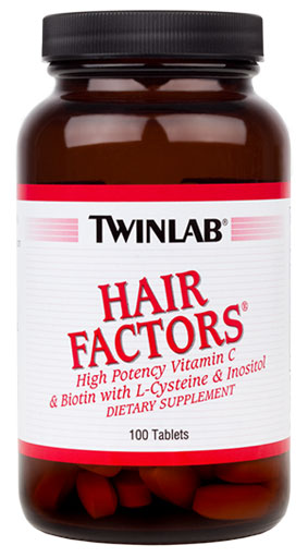 Hair Factors Tabs Twinlab (100 tab)