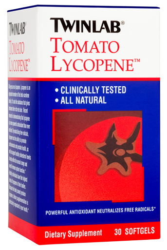 Tomato Lycopene Twinlab (60 гелевых капсул)