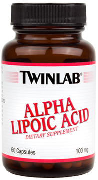 Alpha Lipoic Acid 100 mg Twinlab (60 кап)