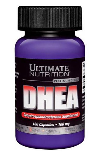 DHEA 100 mg Ultimate Nutrition (100 кап)