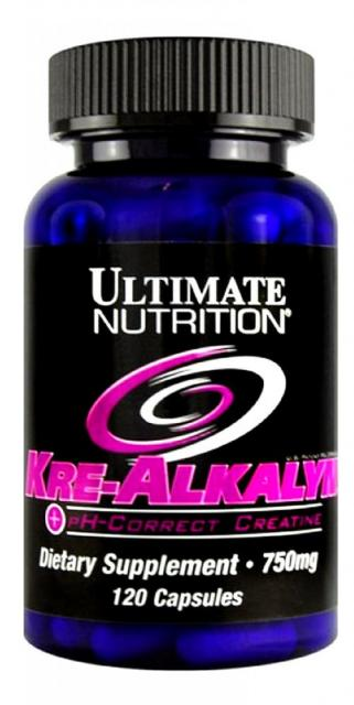 Kre-Alkalyn Ultimate Nutrition (120 кап)