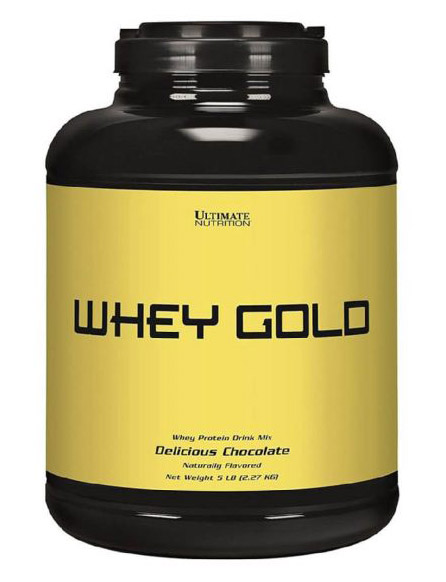 Whey Gold Ultimate Nutrition (2270 гр)