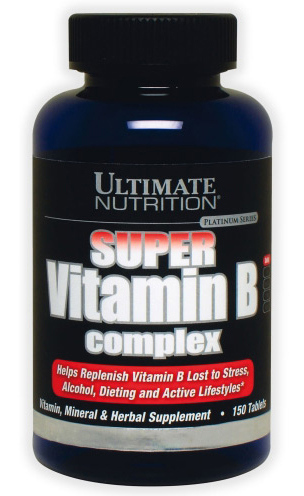 Super Vitamin B-Complex Ultimate Nutrition (150 таб)