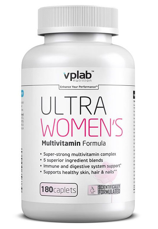 Ultra Women's Multivitamin Formula VPLab Nutrition (180 cap)