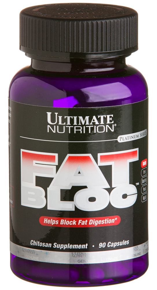 Fat Bloc (1000 мг Chitosan) Ultimate Nutrition (90 кап)