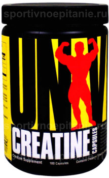 Creatine Capsules Universal Nutrition (100 кап)(годен до 10/2017