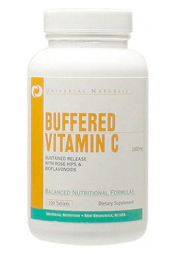 Vitamin C Buffered 1000 mg Universal Nutrition (100 tab)