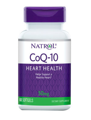 CoQ-10 50 mg Natrol (60 softgels)(EXP 31/07/2020)