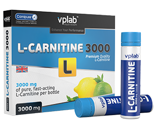 L-Carnitine 3000 VP Laboratory (7 ампул х 25 мл)