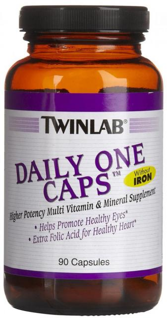 Daily One Caps Without Iron Twinlab (90 кап)