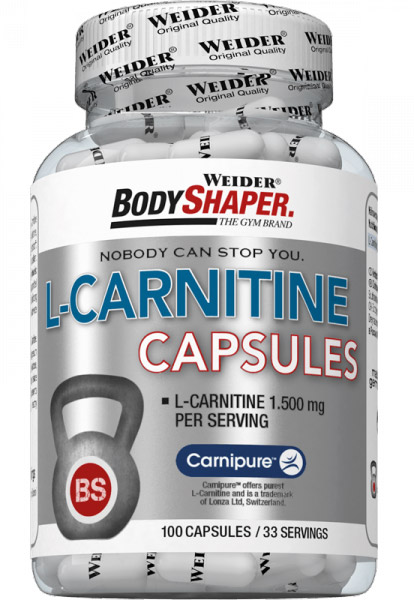 L-Carnitine Capsules Weider (100 кап)