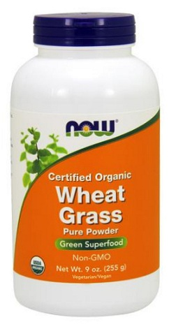 Wheat Grass Powder 9 oz NOW (255 gr)