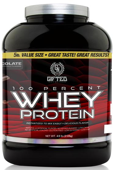 100% Whey Protein Gifted Nutrition (2220 гр)