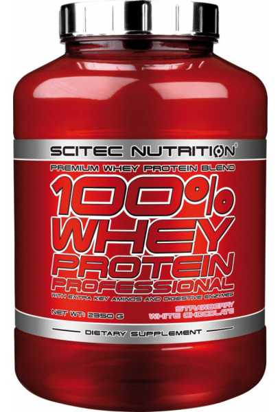 100% WHEY PROTEIN PROFESSIONAL SCITEC NUTRITION (2350 гр)