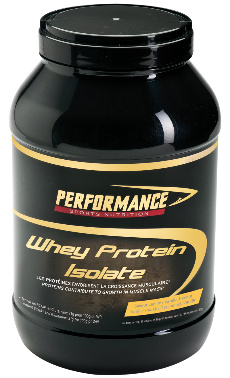 Whey Protein Isolate Performance (2000 gr)
