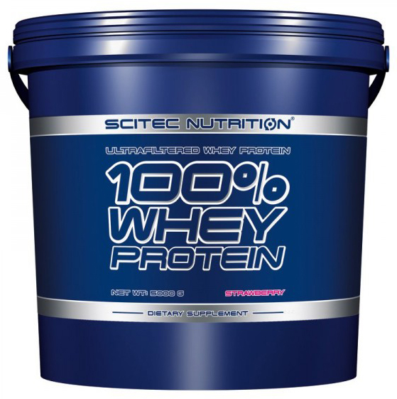 100% WHEY PROTEIN SCITEC NUTRITION (5000 гр)