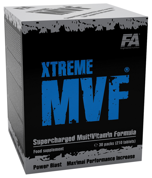 Xtreme MVF Fitness Authority (30 pac, 210 tab)