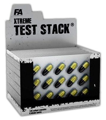 Xtreme Test Stack Fitness Authority (120 cap)