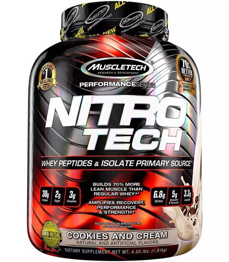 Nitro-Tech Performance Series MuscleTech (1800 gr)